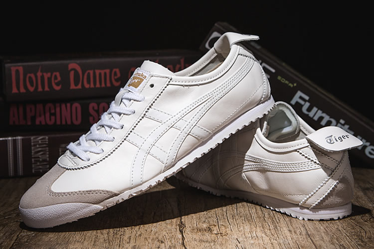 Onitsuka Tiger Mexico 66 (All White) Shoes