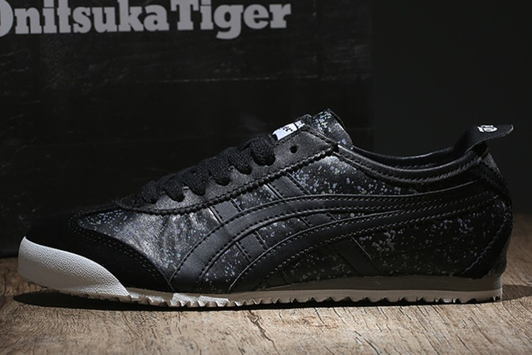 (Black/ Black) New Onitsuka Tiger Mexico 66 Shoes