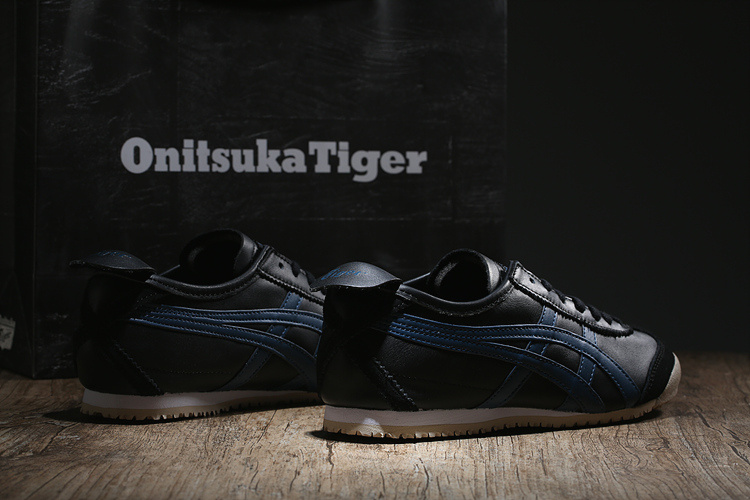 (Black/ Blue) New Onitsuka Tiger Mexico 66 Shoes