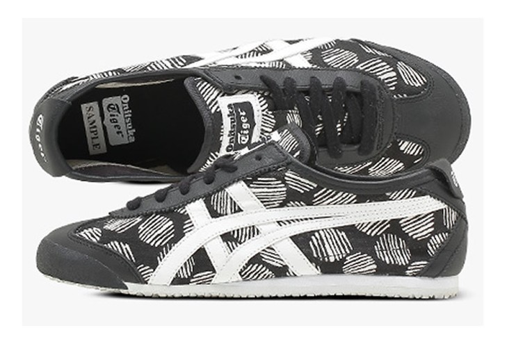 Onitsuka Tiger Mexico 66 (Black/ White) Shoes