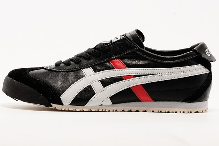 (Black/ White/ Red) Onitsuka Tiger Mexico 66 Shoes