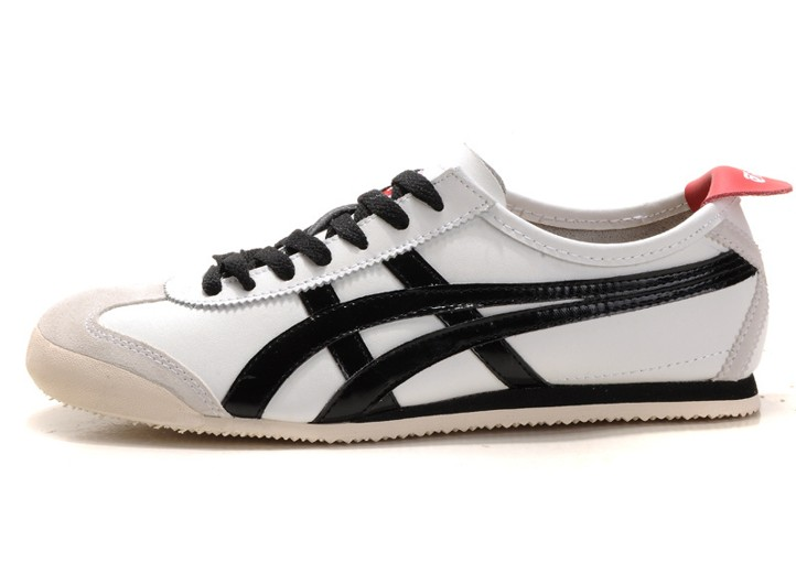 Mens (White  Black  Tomato) Onitsuka Tiger Mexico 66 Shoes e26039a5d2d1