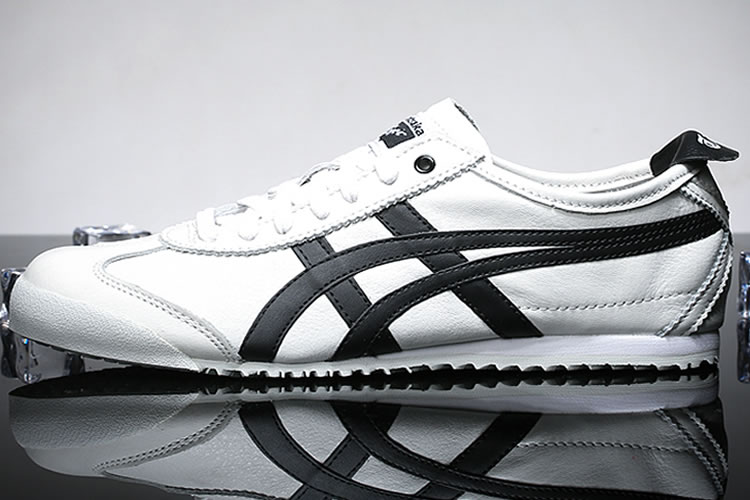 (White/ Black) Onitsuka Tiger Mexico 66 Women Shoes