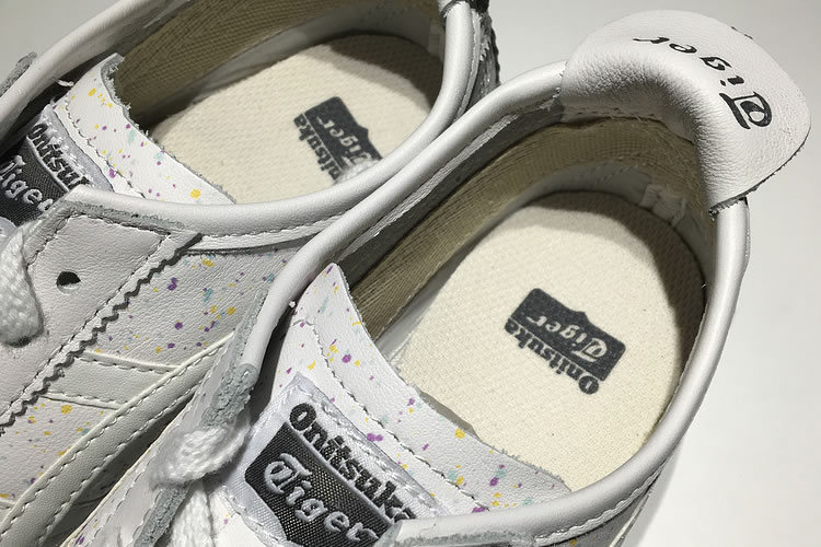 (White/ White) New Onitsuka Tiger Mexico 66 Shoes - Click Image to Close