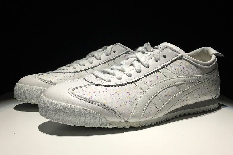(White/ White) New Onitsuka Tiger Mexico 66 Shoes