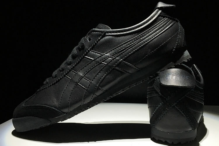 Onitsuka Tiger Mexico 66 (All Black) Shoes