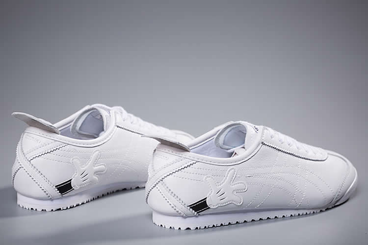 (Onitsuka Tiger/ Disney Mickey Mouse) Mexico 66 White Shoes - Click Image to Close