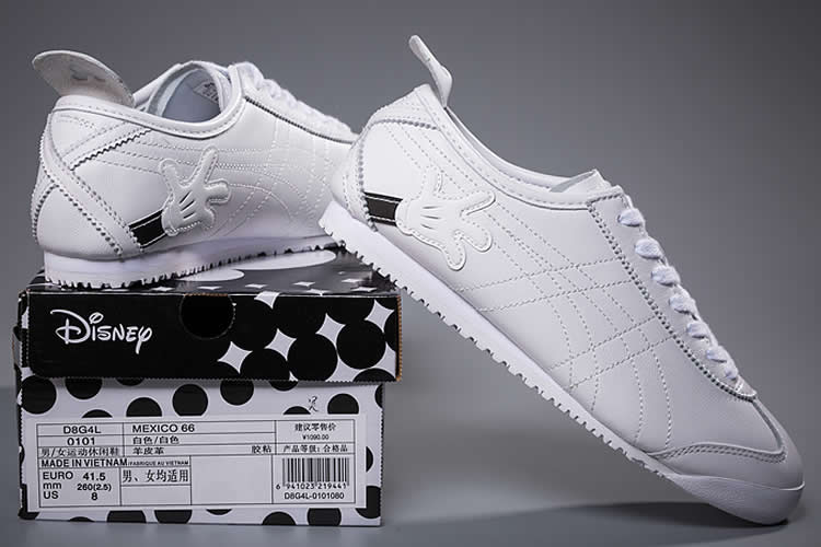 (Onitsuka Tiger/ Disney Mickey Mouse) Mexico 66 White Shoes