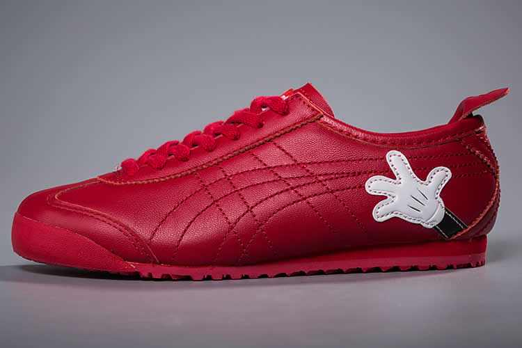 (Onitsuka Tiger/ Disney Mickey Mouse) Mexico 66 Red Shoes