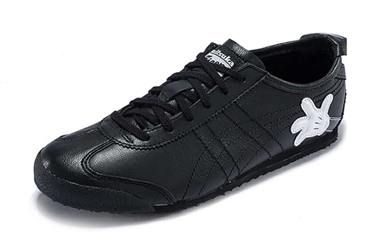 (Onitsuka Tiger/ Disney Mickey Mouse) Mexico 66 Black Shoes