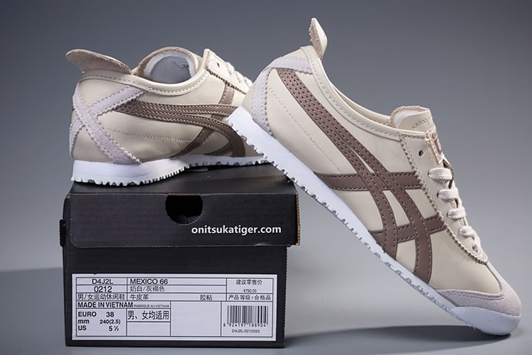 (Ivory/ Taupe) Onitsuka Tiger Mexico 66 Shoes