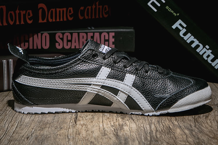 Onitsuka Tiger Mexico 66 (Black/ White) Shoes - Click Image to Close