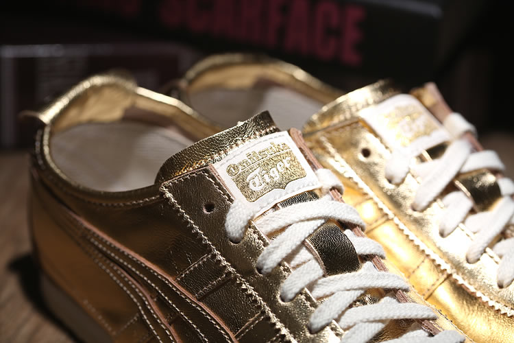 (All Gold) Onitsuka Tiger Mexico 66 New Shoes - Click Image to Close