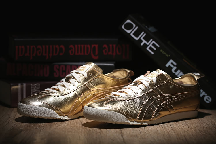 (All Gold) Onitsuka Tiger Mexico 66 New Shoes