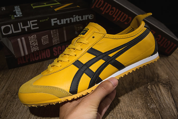 Onitsuka Tiger Mexico 66 (Yellow/ Black) Shoes