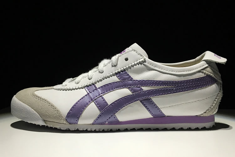 Onitsuka Tiger Mexico 66 Women (White/ Purple) Shoes