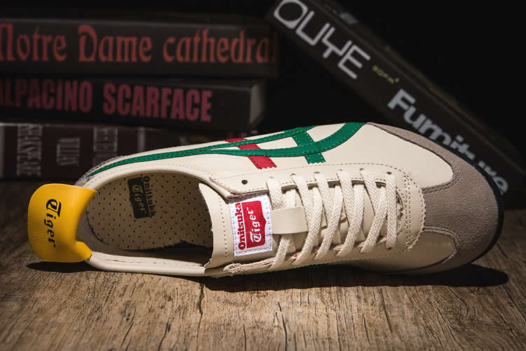 5045187b3577c3 Beige/ Green/ Red/ Gold) Onitsuka Tiger Mexico 66 Shoes [DL408-1684 ...
