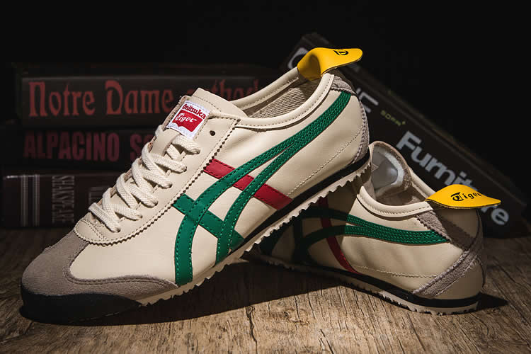 (Beige/ Green/ Red/ Yellow/ Black) Mexico 66 Shoes - Click Image to Close