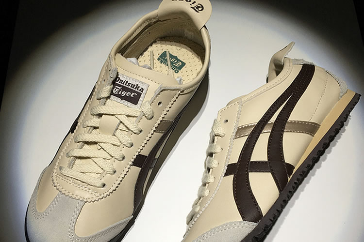 Onitsuka Tiger Mexico 66 (Beige/ Brown/ Gold) Shoes