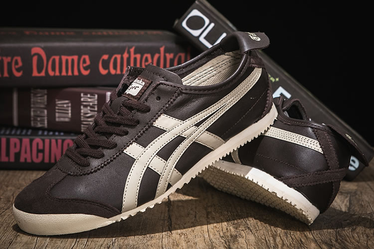 (Brown/ Beige) Onitsuka Tiger Mexico 66 Shoes