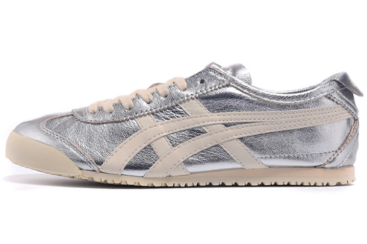 (Silver/ Beige) Onitsuka Tiger Mexico 66 New Shoes