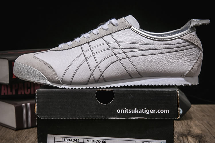 Onitsuka Tiger Mexico 66 (White/ Silver) Shoes