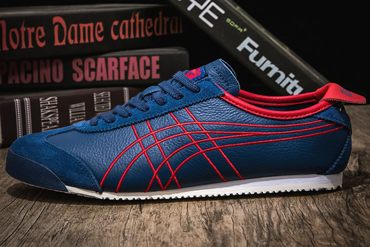 Onitsuka Tiger Mexico 66 (Blue/ Red) Shoes