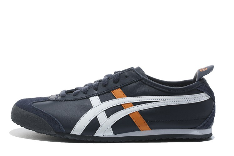 (Brown/ White/ Orange) Onitsuka Tiger Mexico 66 Shoes