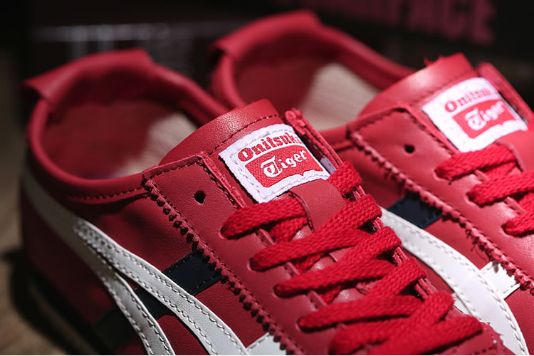 Onitsuka Tiger Mexico 66 (Red/ White/ DK Blue) Shoes - Click Image to Close