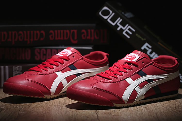 Onitsuka Tiger Mexico 66 (Red/ White/ DK Blue) Shoes