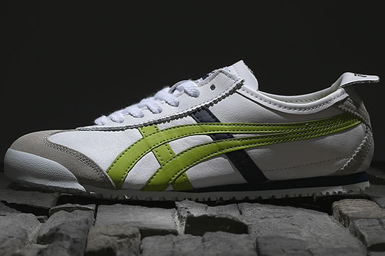 (White/ Lemon) Onitsuka Tiger Mexico 66 Shoes