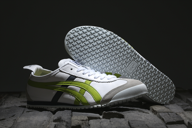 (White/ Lemon/ Black) Onitsuka Tiger Mexico 66 New Shoes