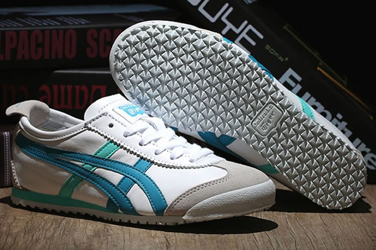 Onitsuka Tiger Mexico 66 (White/ LT Blue) Women Shoes
