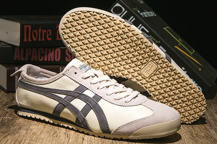 (Plicated Milky/ Grey) Onitsuka Tiger Mexico 66 VIN Shoes
