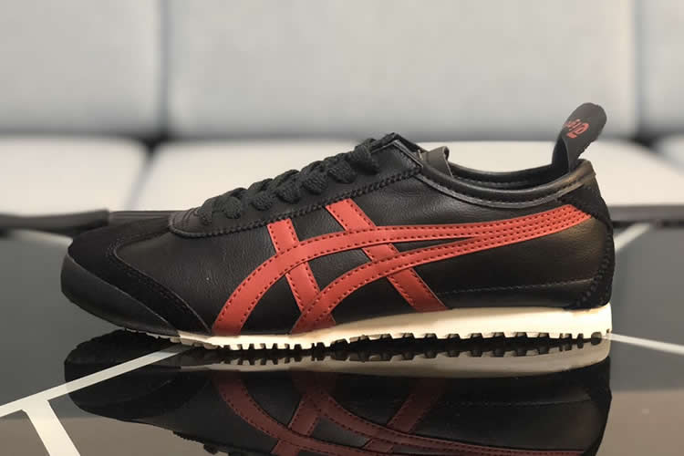 (Black/ Red) Onitsuka Tiger Mexico 66 New Shoes