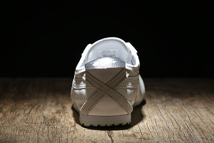 (White/ Silver) Onitsuka Tiger Mexico 66 Shoes