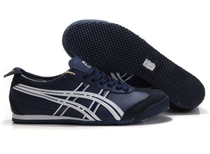 Mens (Navy/ White) Onitsuka Tiger Mexico 66 Shoes