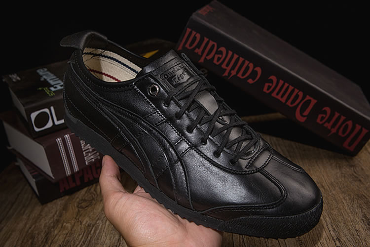 Onitsuka Tiger Mexico 66 SD (All Black) New Shoes