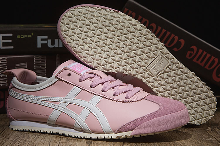 (Pink/ White) Onitsuka Tiger Mexico 66 Women Shoes