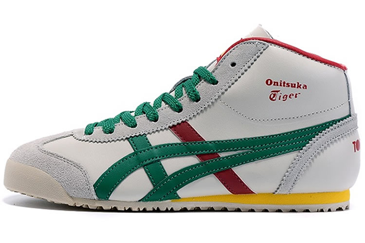 onitsuka tiger mexico 66 mid runner deluxe white