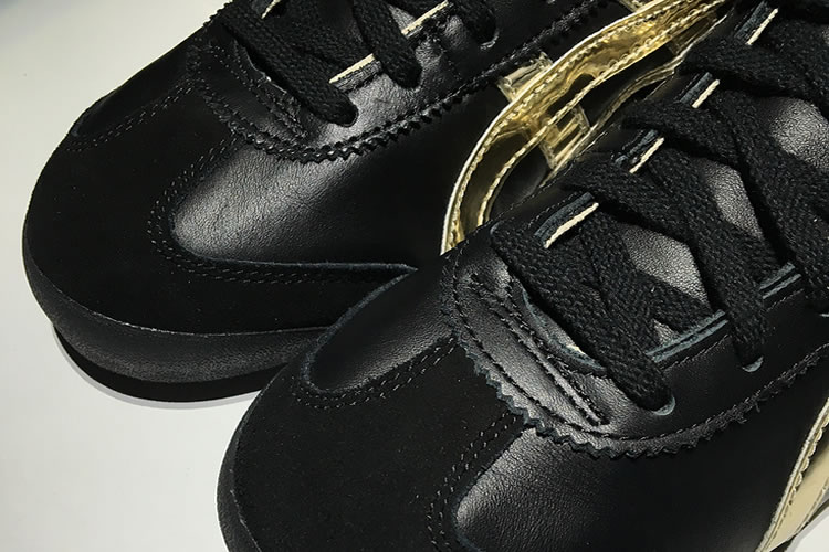 (Black/ Gold) Onitsuka Tiger Mexico Mid Runner Shoes