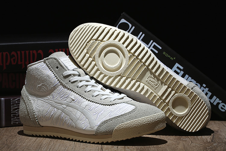 New Onitsuka Tiger Mexico Mid Runner Deluxe Shoes