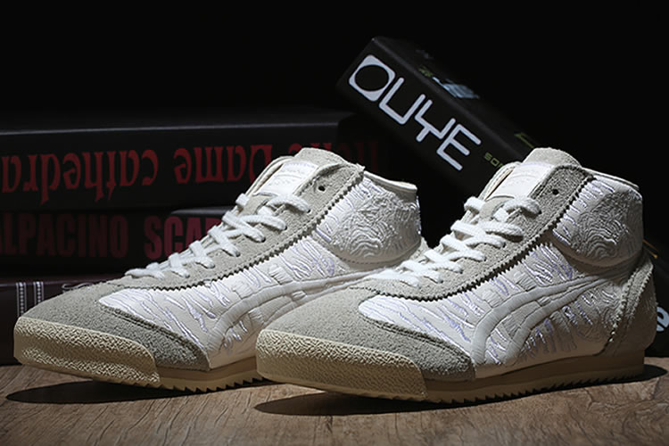 Onitsuka Tiger Mexico Mid Runner Deluxe Shoes - Click Image to Close