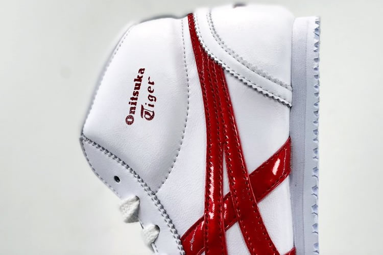 Onitsuka Tiger Mid Runner (Mix-and-Match by Red/ Blue) Shoes - Click Image to Close