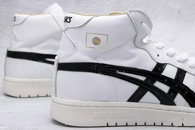 (White/ Black) Onitsuka Tiger Mid Runner (Japan) Shoes