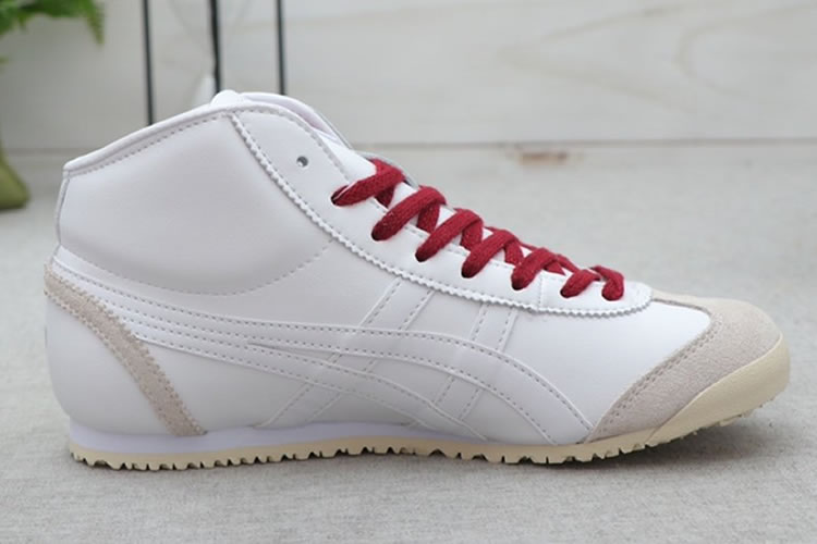 Onitsuka Tiger Mexico Mid Runner (White/ Purple) Shoes
