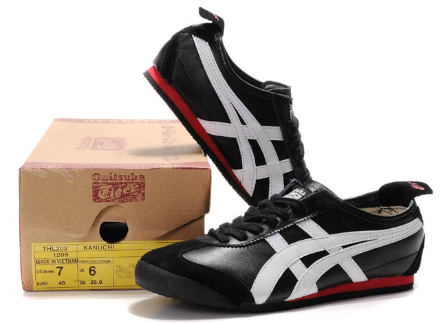 Onitsuka Tiger black white tomato Shoes