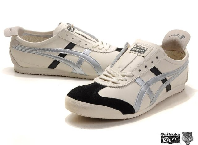 Onitsuka Tiger Mexico 66 beige silver black Shoes