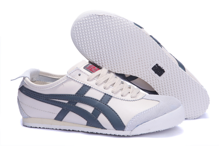 Onitsuka Tiger Mens Shoes (Beige/ Grey)