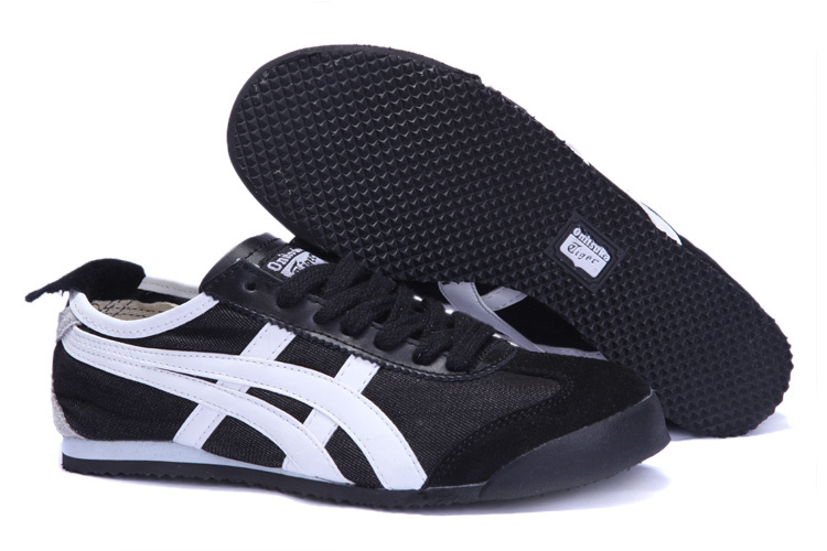 Onitsuka Tiger Mens Shoes (Black/ White)